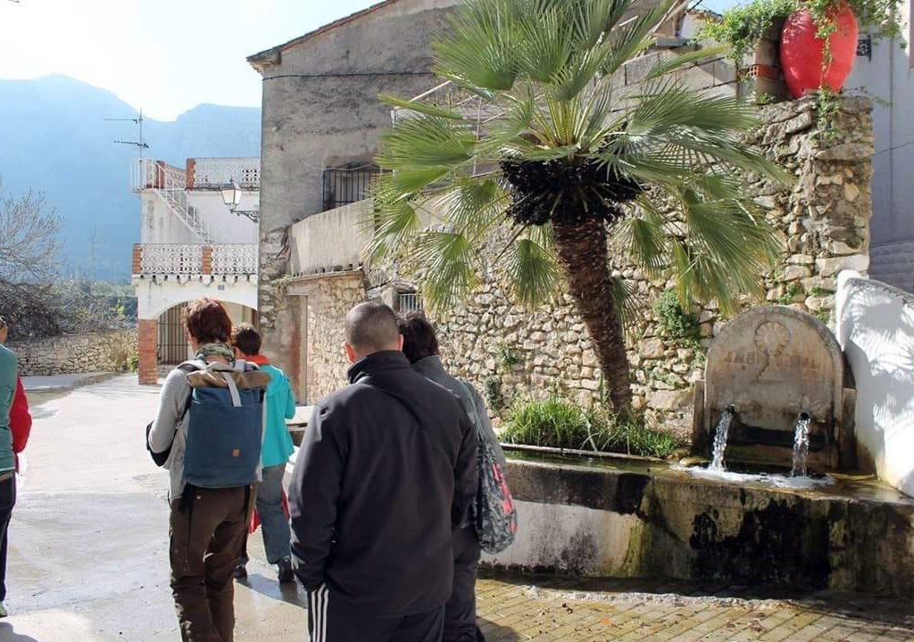 Senderismo La Vall de Gallinera Caferminet.es